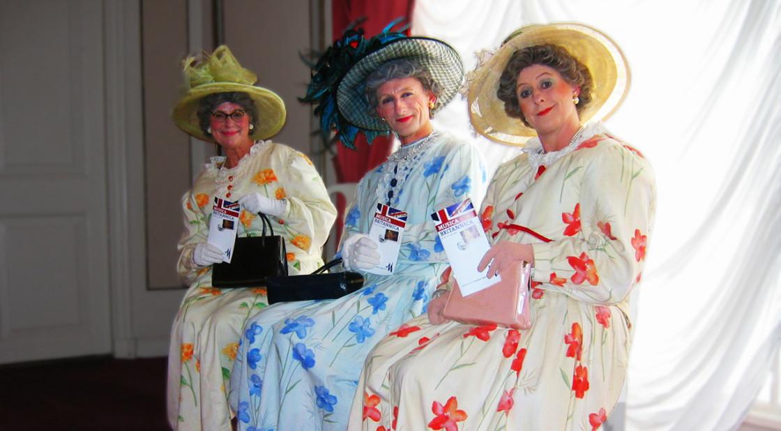 Big Hatted Ladies